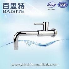 Factory pull out wall mounted sink tap polished abs modern kitchen faucet