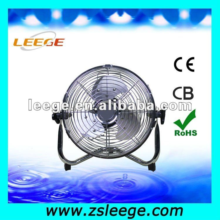 small metal quiet floor fan