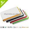 FCC CE RoHS super thin 15000mAh ABS mobile slim power bank