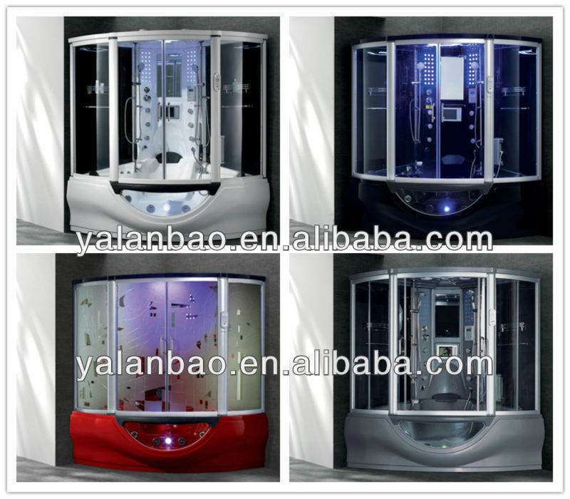 computerized whirlpool and shower combined luxury sauna steam room