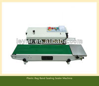 Continuous plastic bag sealing machine datecode heat shrinking sealer,impulse sealer
