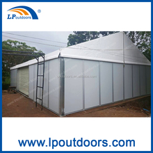 big outdoor aluminum temporary warehouse storage tent