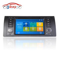 7 inch 256 MB RAM car radio for BMW 5 Series E39 E38 E53 car dvd player with GPS,Radio,bluetooth,steering wheel