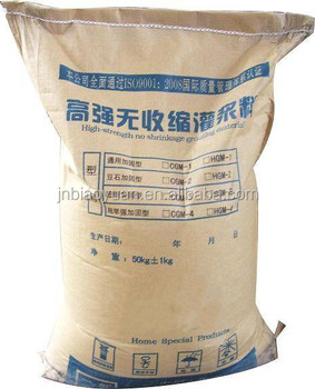 Low temperature early strength cement grouting materials type orbit and cement