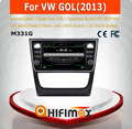 Hifimax Android 4.4.4 car dvd for VW GOL 2013 with 4 Core CPU 16G Hard disk HD1024*600 capacitive screen