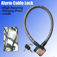 2013 New Waterproof electronic bike alarm lock