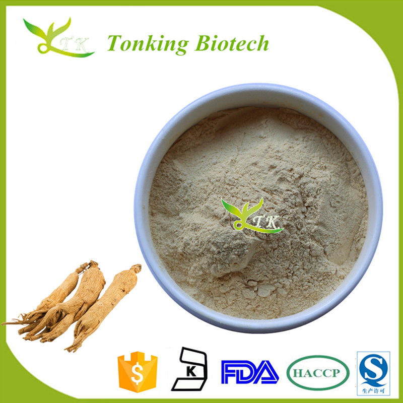 ISO factory Oral Liquid Ginseng Extract Powder Radix Panax Ginseng Extract