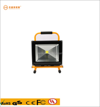 30w battery power led rechargeable flood lamp portable work light hand-carry emergency lighting