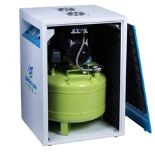 42dB Super Silent Compressor Dental Use With Cabinet