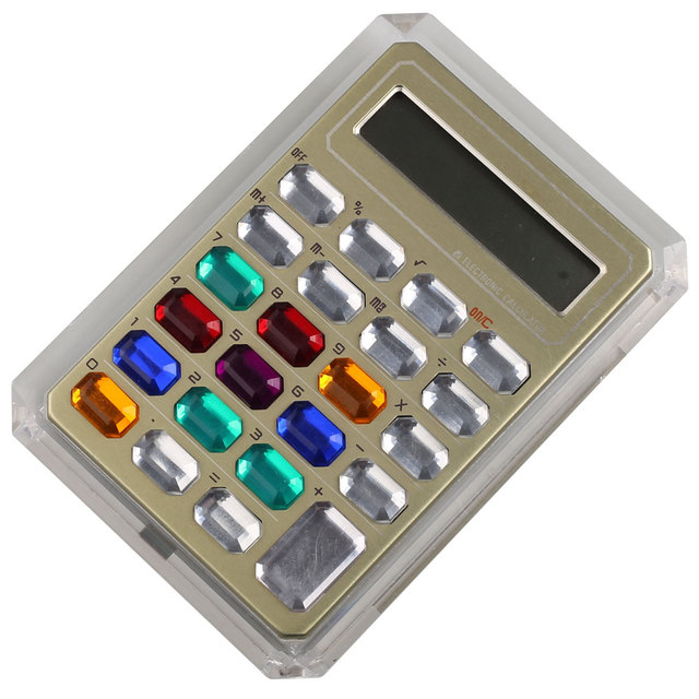 Promotional Gift Items 8 Digits Colorful Portable Calculator with Logo