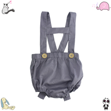 Newborn Baby Clothes Wholesale Icing Raglan Shorts Organic Baby Suspender Bloomer