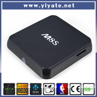 Amlogic S812 Quad core android tv box M8S Mail-450 2.4GHz & 5GHz WIFI XBMC full loaded with 4K HD player