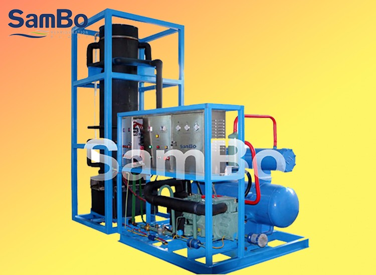 3TPD CE Transparent Tube Ice Making Machine For Sale