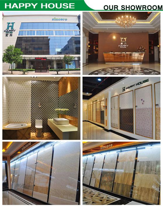 Foshan big size glossy white floor tile ceramic tile floor for 100x100 floor tiles