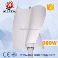 Latest 300w vawt squirrel-cage wind turbine 300w