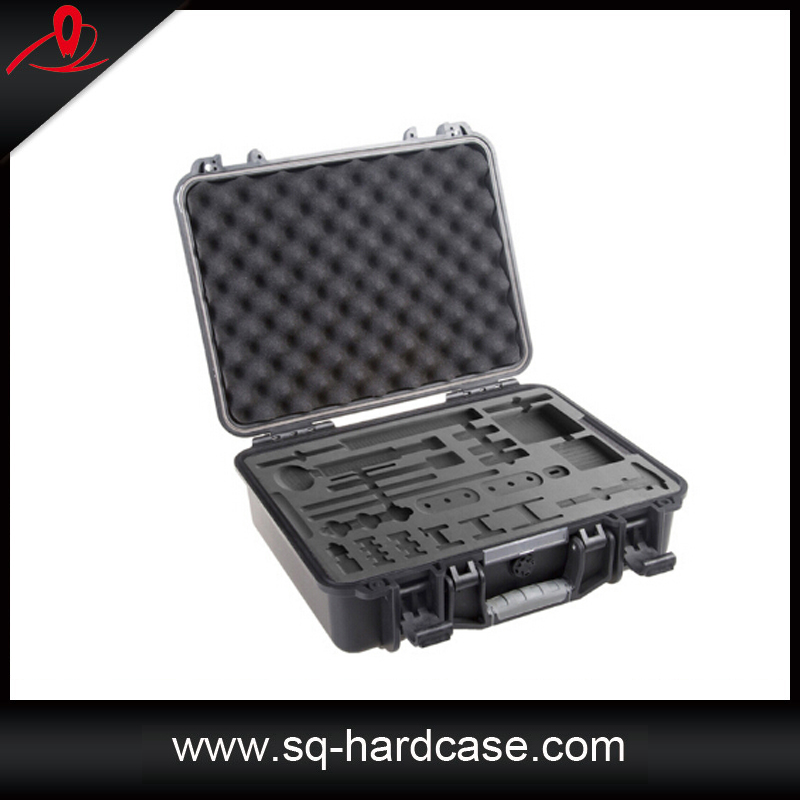custom design hard plastic flight case waterproof shockproof