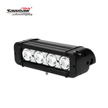 Hotslae 6000K pc lens single row dune buggy 8inch 40w 4x4 super bright led light bar 10W