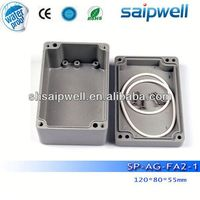 2014 Best sales aluminium extrusion enclosure / box, IP67 aluminium extrusion enclosure / box made in China