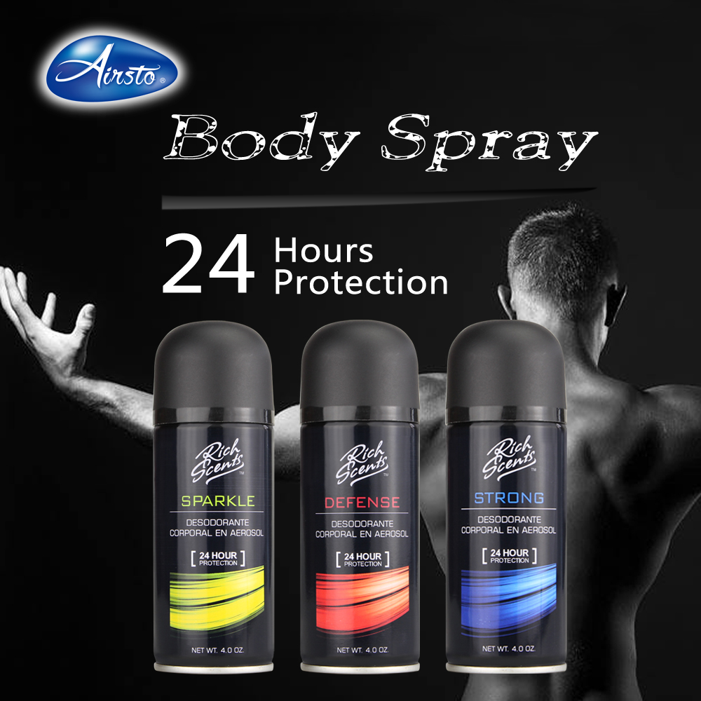OEM Branded Body Spray For Men