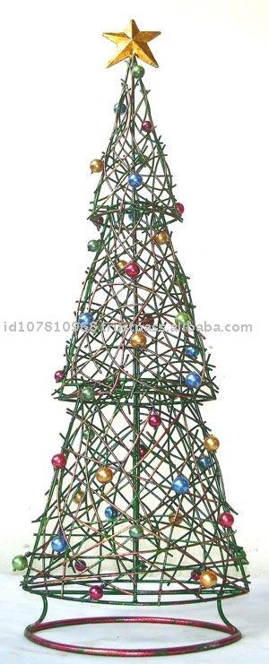 reihe weihnachtsbaum des draht zweig 3 weihnachtsschmuck. Black Bedroom Furniture Sets. Home Design Ideas