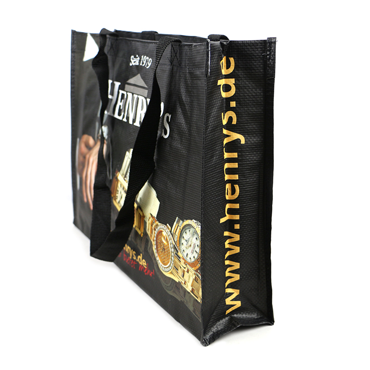 Wholesale market promotional REACH Standard Reuse PP Woven Shopping Bag