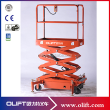 High-quality Olift homemade small electric scissor lift with certificate CE ISO with SGS