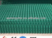 galvanized/plastic coated welded wire mesh/reinforced welded wire mesh fence