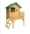 Wooden kids garden playhouse