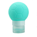 2018 world cup gifts football shaped silicone travel bottle