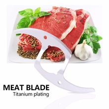 High precision OEM stainless steel rotary meat slicer knife Electric meat knife