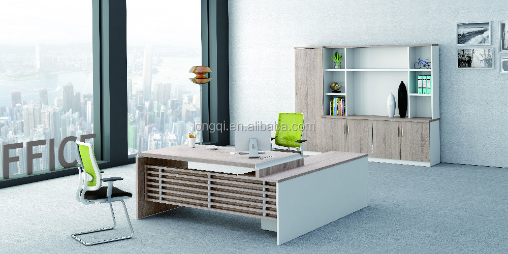 2015 Lastest Designs Top Quality Melamine Modern Office Table Design Furnitur