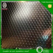 brush strip full hard cold rolled 201 304 series embossed cubes stainless steel sheet