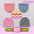 Pink damask baby knitted hats baby cotton hats lovely baby warm hats with bow
