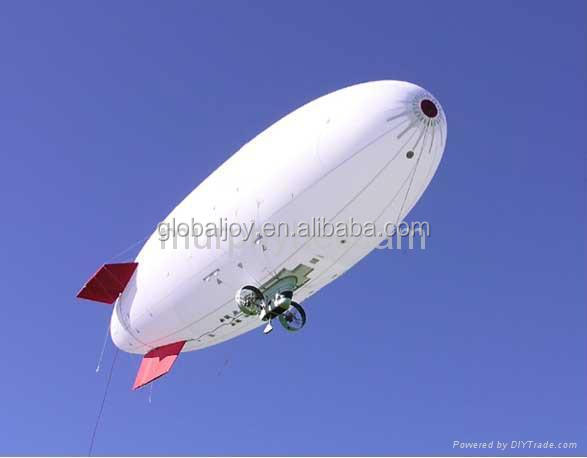2015 Rockets air blimp balloon/inflatable remote control advertising blimp