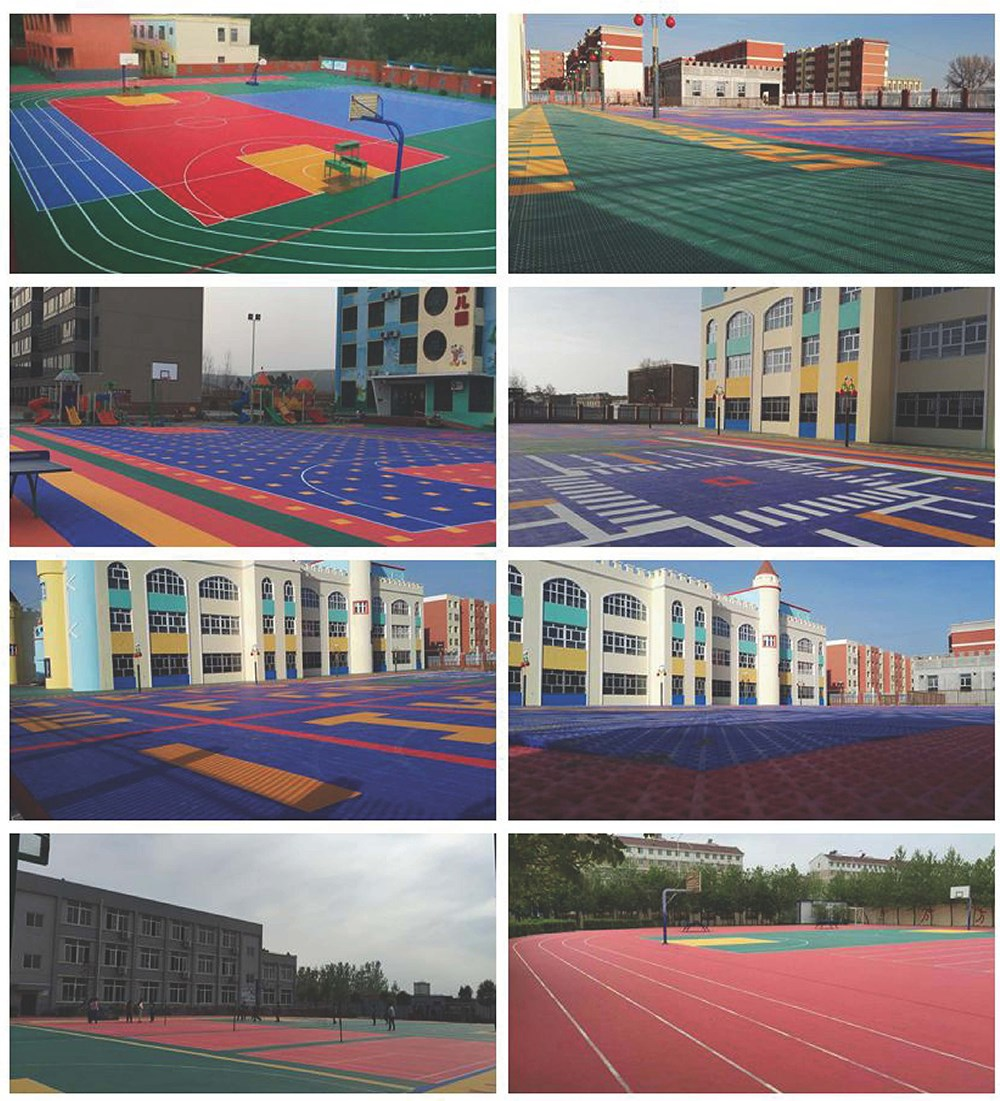 Interlocking suspended polypropylene surface floor tiles for basketball courtsfootball courtshotel and recreation plazakindergartenvolleyball courtsetcerlocking suspended polypropylene surface floor tiles dailygadgetfo Image collections