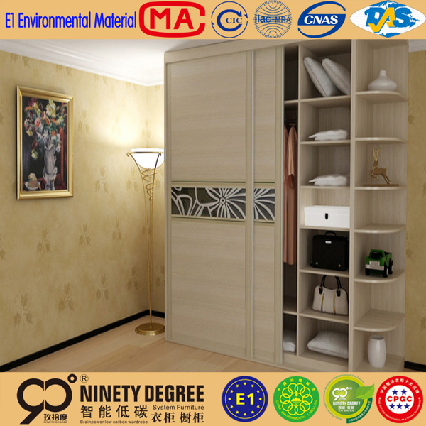 Bargain steelite price guangzhou bedroom furniture of wooden wardrobe