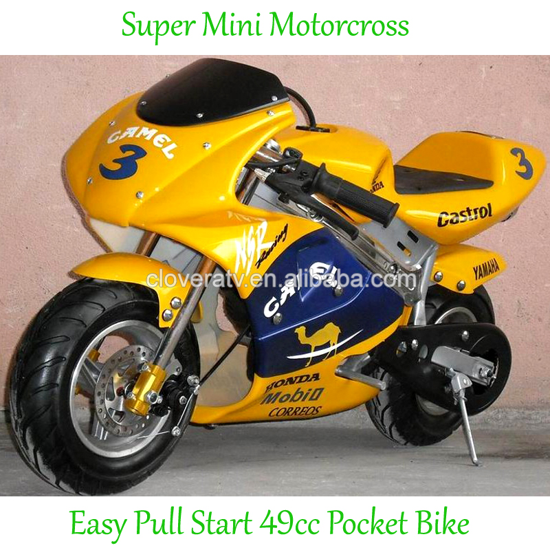 Safety Mini Motorcycle 49cc Pocket Bike with Emergency stop