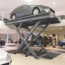electric power 4s shop use scissor car lift