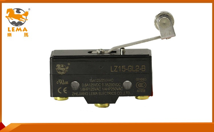 LZ15-GD-B mechanical lever latching solder terminal micro switch for household general basic switch