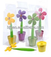 Novelty Design Twist Ball Pen, Plastic Flower Ball Pen