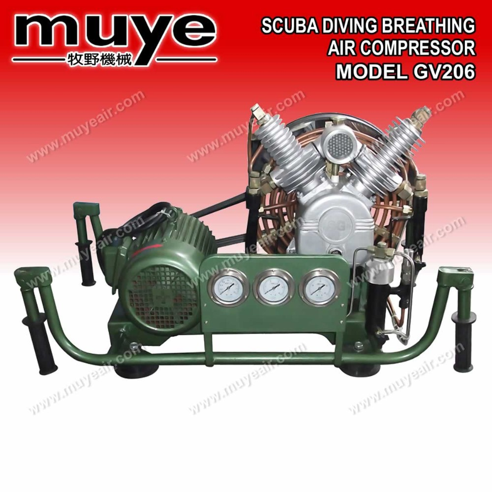 Portable 300 Bar Diving SCUBA/Breathing Air Compressor for Sale