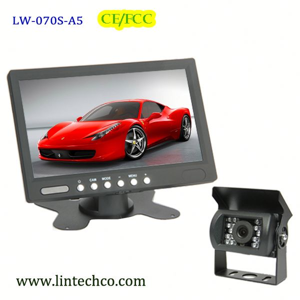 waterproof thermal camera car with 12V-24V DC