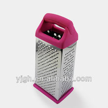 as seen on tv product rose red kitchen ware four side stainless steel cheese grater