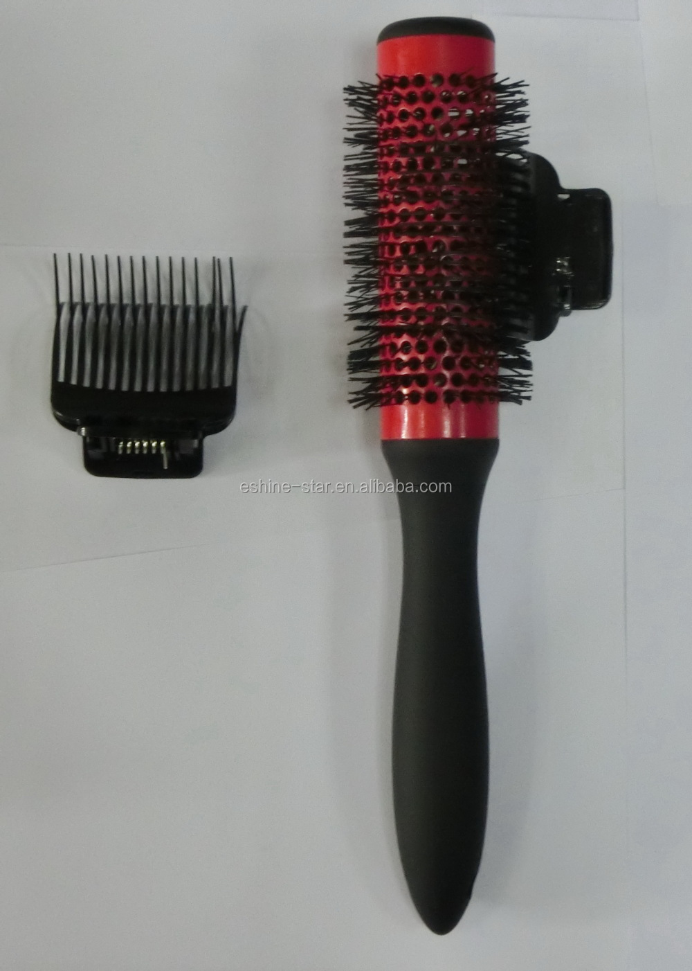 Professional Hair Brush Roller Set With Clip And Comb