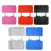 colorful protective silicone case for nintendo 3DS XL / LL black descriptions