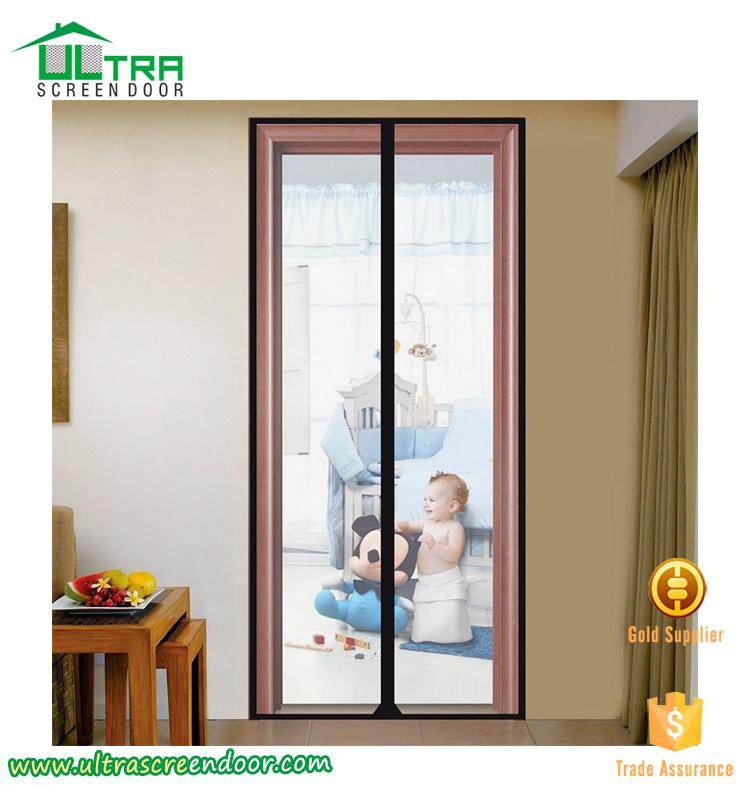 Screen curtain for door