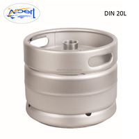 empty draft DIN standard german 20l beer keg