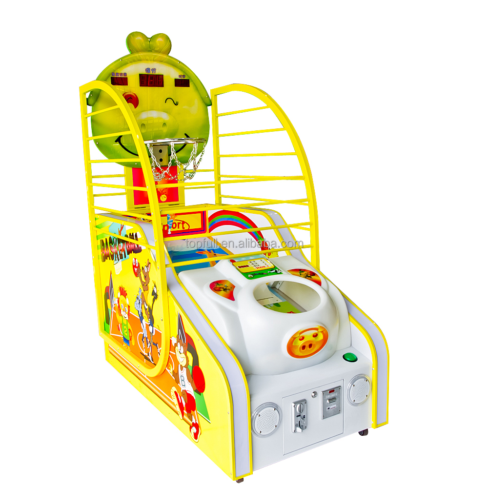 Factory price machine game online play kids children electronic basketball game