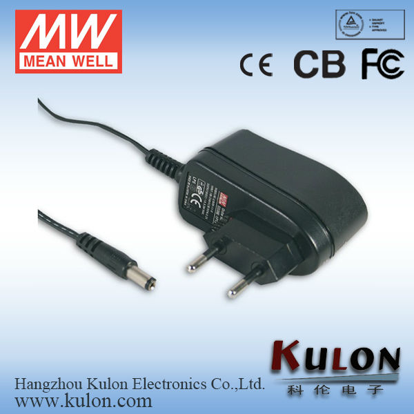 Meanwell GS06E-5P1J 18V 0.33A ac adapter 10v 1.3a