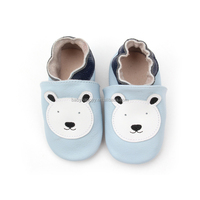 Customized Patterns Cartoon Genuine Leather Baby Baba Shoes